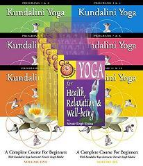 Beginners' Course in Kundalini Yoga - DVD Set - Nirvair Singh