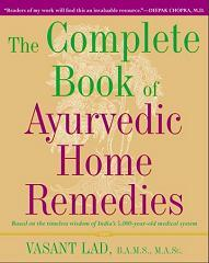 The Complete Book of Ayurvedic Home Remedies - Vasant Lad - Book