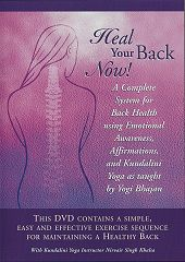 Heal Your Back Now - Nirvair Singh